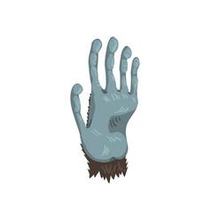 monkey animal paw on a white vector image