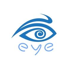 Original Blue Eye vector image