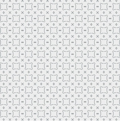 Seamless Pattern Vintage Black And White vector image