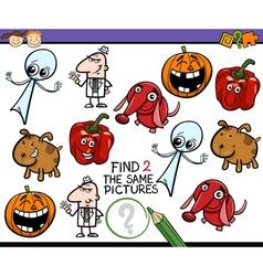 Task for preschool kids vector