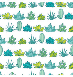 blue green stripes seamless repeat pattern vector image