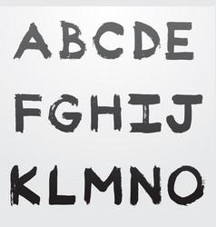 graffiti alphabet part 1 vector image vector image