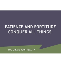 Motivational Quote Words That Inspire Your Succes vector image