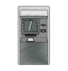 Atm bank machine vector