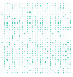 background with digits on screen binary code zero vector image