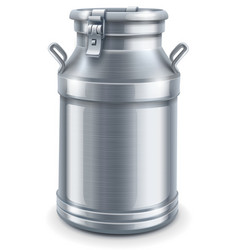 can container for milk vector image