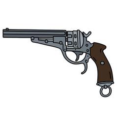 Classic revolver vector