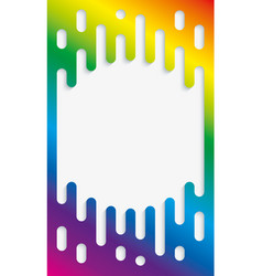 Colorful halftone transition background vector