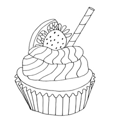 High quality original of cake with vector