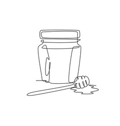 Single continuous line drawing stylized sweet vector