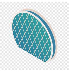 skyscraper aldar hq isometric icon vector image