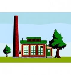 Small factory vector