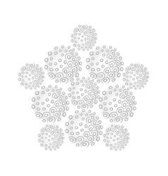 Sphere pentagon set vector