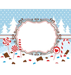 Sweet winter vector