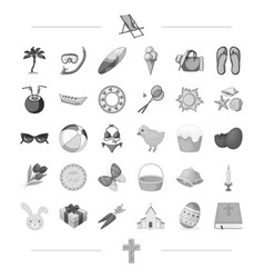 travel leisure sport and other web icon in black vector image