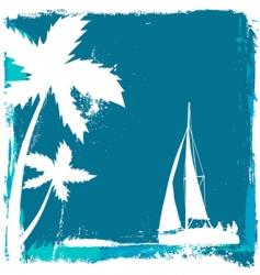 tropical design vector image