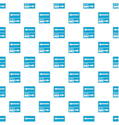 Road for route vehicle pattern seamless vector