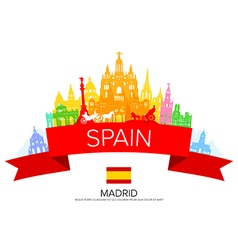 Spain vector image vector image