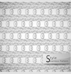 abstract seamless pattern mesh eyes monochrome vector image