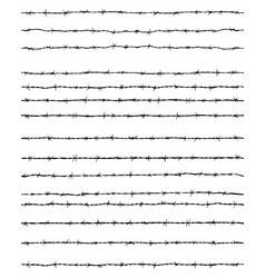 Barbed wires seamless vector
