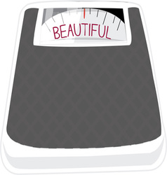 Beautiful Scale vector image