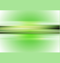 Bright green glowing stripes abstract background vector