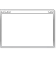 browser window vector image