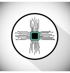 Circuit board cpu vector