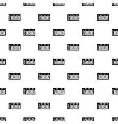 electronic synth pattern vector image