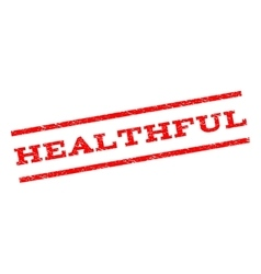 Healthful Watermark Stamp vector image