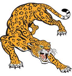 Jaguar logo mascot vector