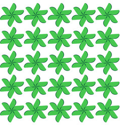 seamless pattern white background vector image