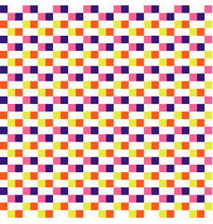 woven seamless pattern color blocks pixel texture vector image