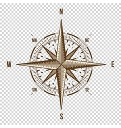 Compass High Quality Old vector image vector image