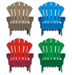 chair wooden vector image