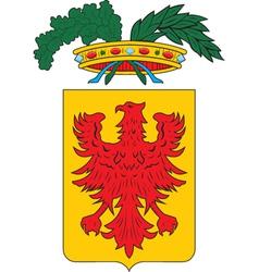 Ravenna province vector image vector image