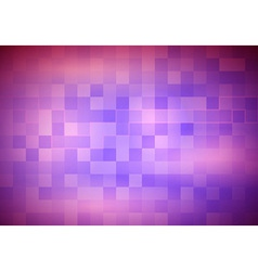 Abstract transparent purple background with tiles vector image