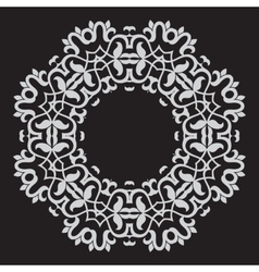 Circular pattern in arabic style vector