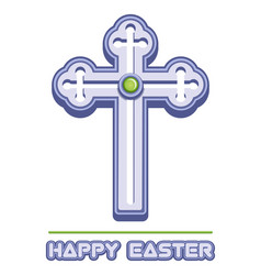 cross is a symbol of christianity vector image