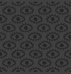 dark eyes background vector image