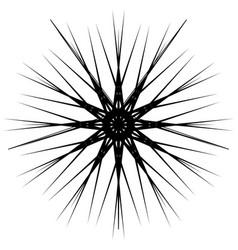 geometric rotating form editable vector image