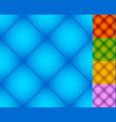 Set of repeatable square patterns in 5 distinct vector