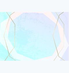 Trendy minimal chic gold geometric gradient vector
