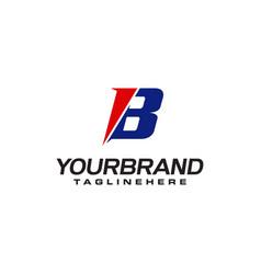 Unique logo that forms letter b matches your vector