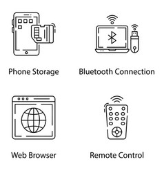 Wireless devices line pack vector