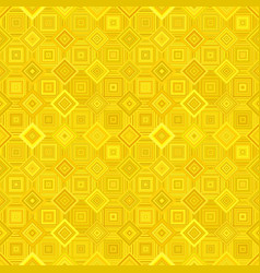 yellow geometric diagonal square mosaic tile vector image
