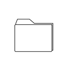 archive folder icon vector image vector image
