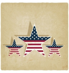 independence day old background vector image vector image