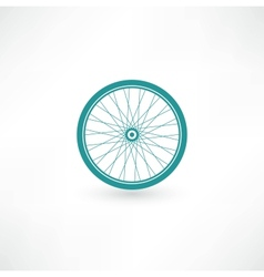 Bicycle Wheel Symbol vector image