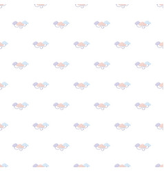 Cloud computing pattern vector